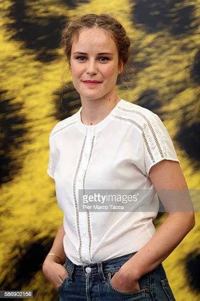 Carla Juri attends 'Paula' photocall during the 69th Locarno Film Festival on August 7 2016 in Locarno Switzerland