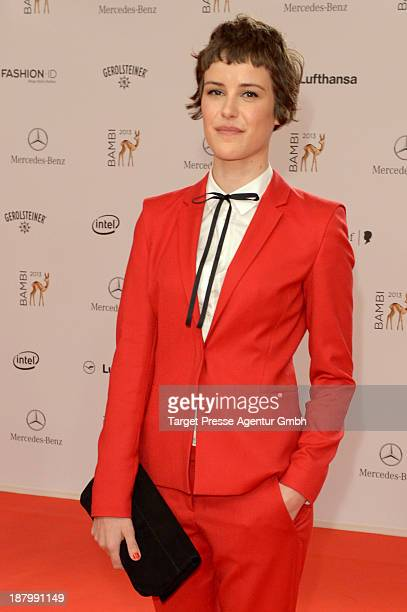 Carla Juri attends the Bambi Awards 2013 at Stage Theater on November 14 2013 in Berlin Germany