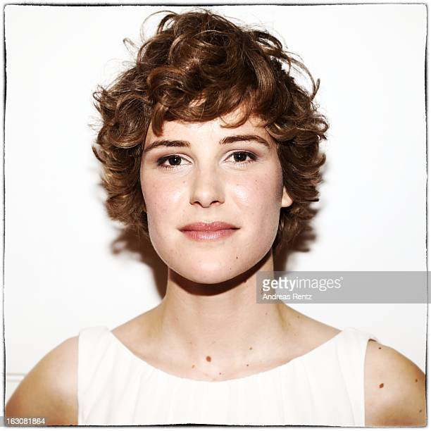 Carla Juri poses for a portrait at the 'BMW Golden Bear Lounge' at the 63rd Berlinale International Film Festival on February 11 2013 in Berlin...