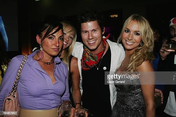 "Carla La Rosa, Stephanie Conley, ""Getaway"" TV Presenter Jason Dundas and Natalie Michaels attend Hemmesphere's 7th Birthday celebrations ""Tokyo..."