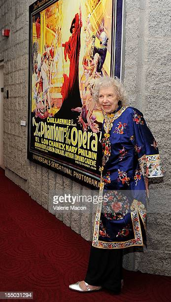 Carla Laemmle attends The Academy Of Motion Picture Arts And Sciences' Screening Of The Phantom Of The Opera at AMPAS Samuel Goldwyn Theater on...