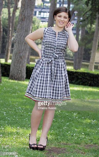 Carla Marchese attends the I Baci Mai Dati photocall at La Casa Del Cinema on April 27 2011 in Rome Italy
