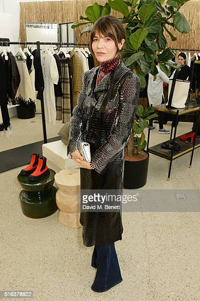 Carla Maria Orsi Carbone attends an exclusive VIP preview of the Dover Street Market on March 18 2016 in London England