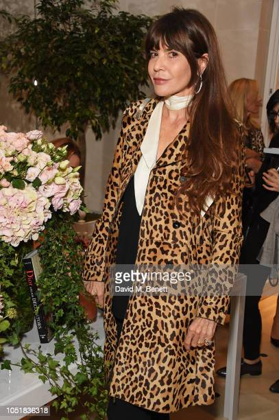 Carla Maria Orsi Carbone attends 'Dior And His Decorators' Book Signing at Dior Boutique on October 10 2018 in London England