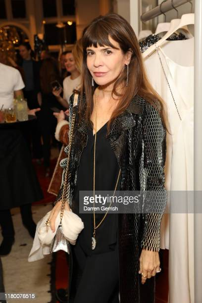 Carla Maria Orsi Carbone attends the MATCHESFASHION X Julie De Libran launch event at 5 Carlos Place on October 09 2019 in London United Kingdom