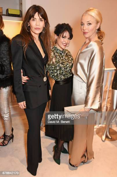 Carla Maria Orsi Carbone Nefer Suvio and Tamara Beckwith attend the 29 Lowndes store launch on May 4 2017 in London England