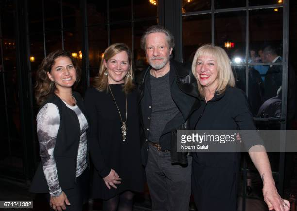 Carla Massey Karen Bates Chris Cooper and Marianne Leone Cooper attends the after party for Lucas Hnath's A Doll's House Part 2 opening night...