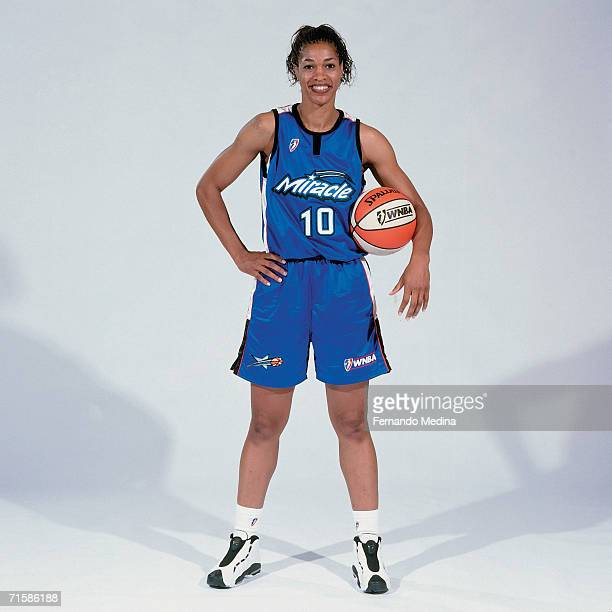Carla McGhee of the Orlando Miracle poses for a photo during the Orlando Miracle Media Day in May of 1999 in Orlando Florida NOTE TO USER User...