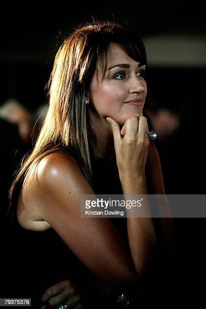 Carla McGuire attends the launch for Channel 9's new television show Underbelly at the Waterside Hotel on January 30 2008 in Melbourne Australia