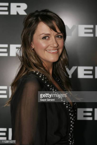 Carla McGuire during Myer Spring/Summer Fashion Show 2006 Arrivals at Royal Hall of Industries in Sydney NSW Australia