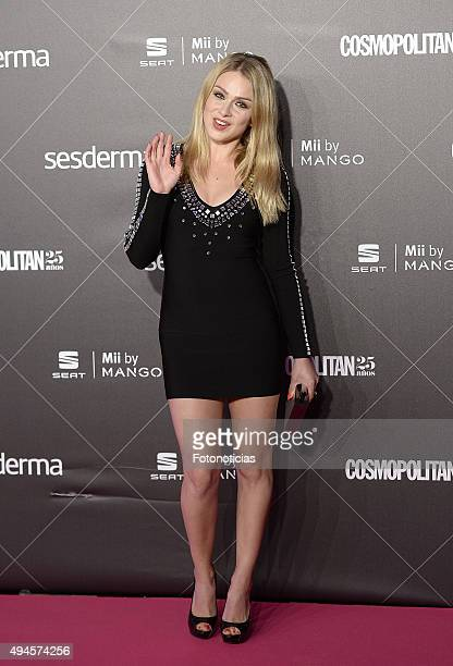 Carla Nieto attends the VIII Cosmpolitan Awards at The Ritz Hotel on October 27 2015 in Madrid Spain