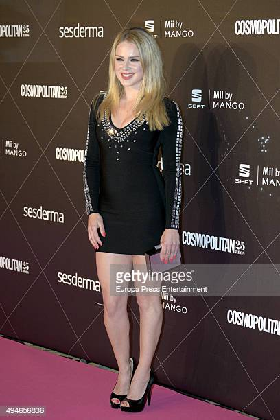 Carla Nieto attends VIII Cosmopolitan Fun Fearless Female Awards at Ritz hotel on October 27 2015 in Madrid Spain