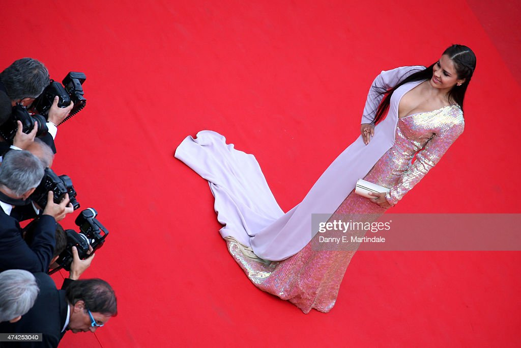 Carla Ortiz attends the Premiere of 'Dheepan' during the 68th annual Cannes Film Festival on May 21, 2015 in Cannes, France.