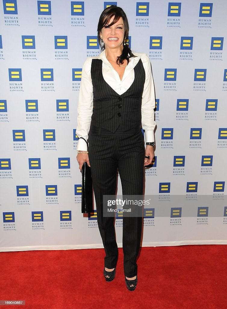 Carla Pellegrino attends the 8th Annual Human Rights Campaign Dinner Gala at the Aria Resort & Casino on May 18, 2013 in Las Vegas, Nevada.