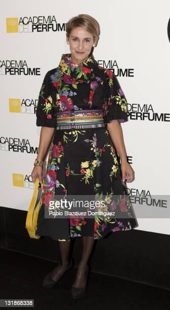 Carla Royo Villanova attends 'Academia del Perfume' Awards 2010 at Pacha on November 3 2010 in Madrid Spain