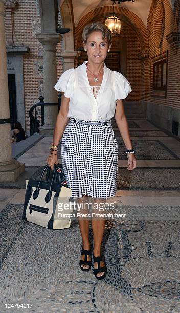 Carla Royo Villanova attends Funeral Service for Archduke Otto of Austria who died on 4th July 2011 at San Gines Church on September 8 2011 in Madrid...