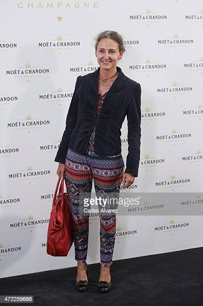 Carla Royo Villanova attends 'Moet Tiny Tennis' event at the French Embassy on May 5 2015 in Madrid Spain
