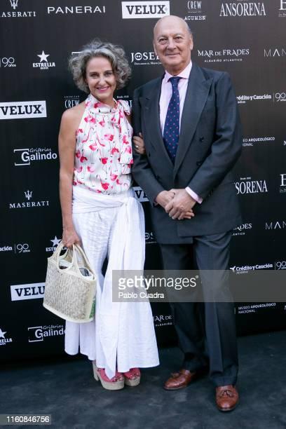 Carla Royo Villanova attends the 'Fuera De Serie' 20th Anniversary party on July 08 2019 in Madrid Spain