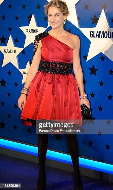 Carla Royo Villanova attends 'Top Glamour Women of the Year Awards' 2011 on November 3 2011 in Madrid Spain