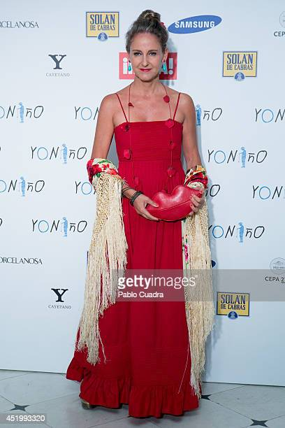 Carla Royo Villanova attends Yo Nino Foundation benefit dinner on July 10 2014 in Madrid Spain
