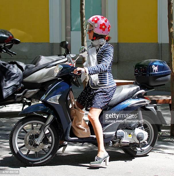 Carla Royo Villanova is seen on June 17 2015 in Madrid Spain