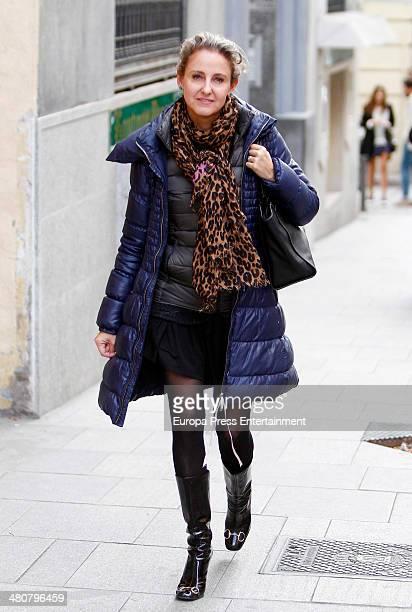 Carla Royo Villanova is seen on March 26 2014 in Madrid Spain