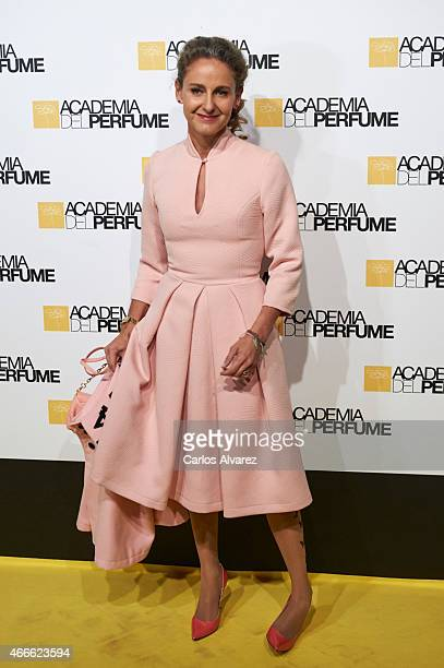 Carla RoyoVillanova attends 'Academia del Perfume' 2015 awards at the Casa Amaerica on March 17 2015 in Madrid Spain