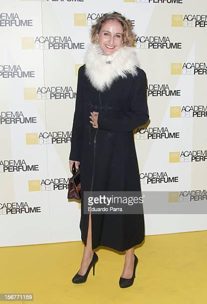 Carla RoyoVillanova attends Academia del perfume awards photocall at Casa de America on November 20 2012 in Madrid Spain