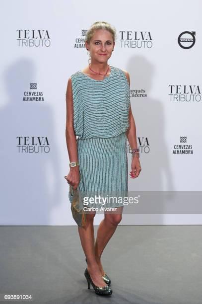 Carla RoyoVillanova attends Paco Rabanne exhibition at the Real Academia de Bellas Artes de San Fernando on June 8 2017 in Madrid Spain