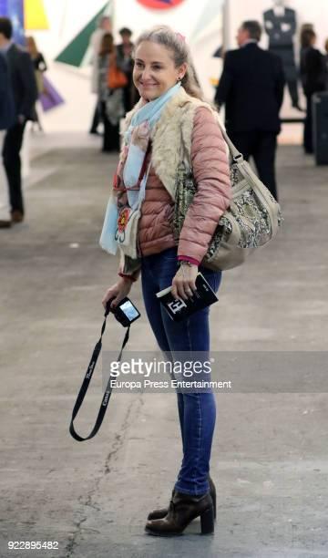 Carla RoyoVillanova attends the International Contemporary Art Fair ARCO 2018 at Ifema on February 21 2018 in Madrid Spain