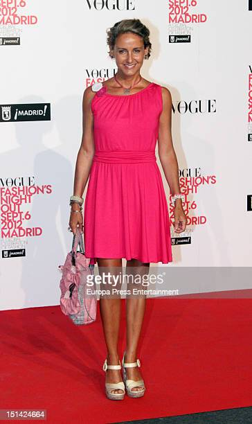 Carla RoyoVillanova attends Vogue Fashion Night Out Madrid 2012 on September 6 2012 in Madrid Spain