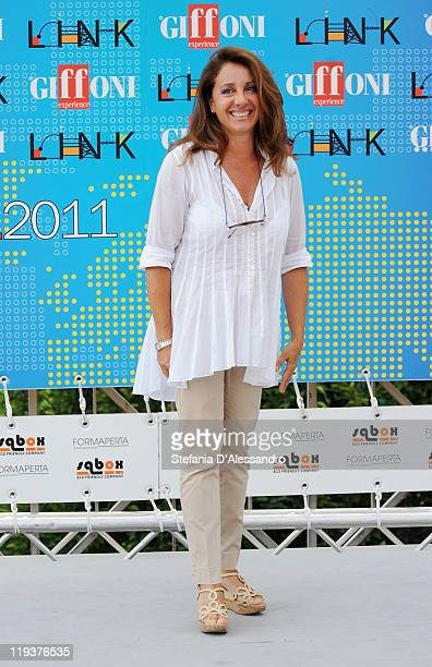 Carla Signoris attends the 2011 Giffoni Experience on July 19 2011 in Giffoni Valle Piana Italy