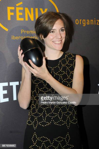 Carla Simon poses during Fenix Iberoamerican Film Awards 2017 at Teatro de La Ciudad on December 06 2017 in Mexico City Mexico