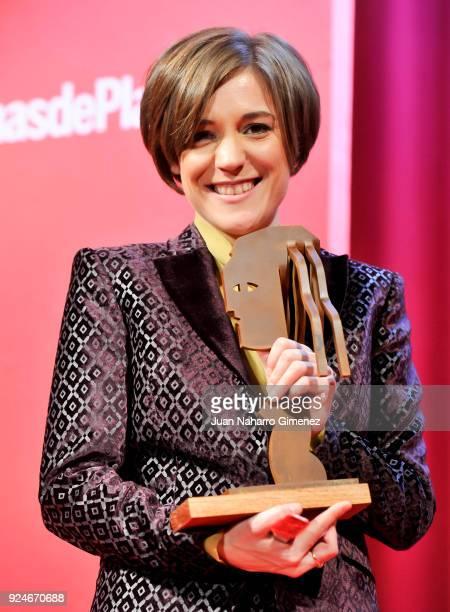 Carla Simons receives the 'Fotogramas Awards' at Joy Eslava on February 26 2018 in Madrid Spain