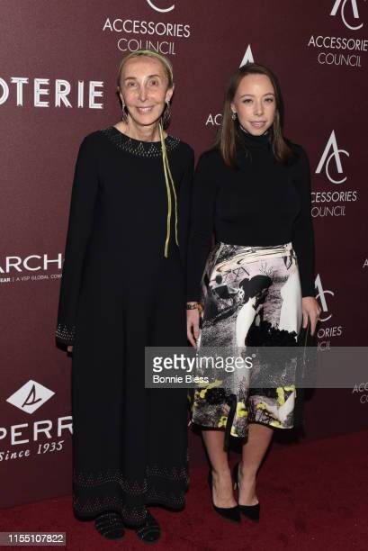 Carla Sozzani and Rickie de Sole attend the 23rd Annual ACE Awards at Cipriani 42nd Street on June 10 2019 in New York City