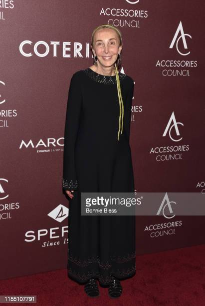 Carla Sozzani attends the 23rd Annual ACE Awards at Cipriani 42nd Street on June 10 2019 in New York City