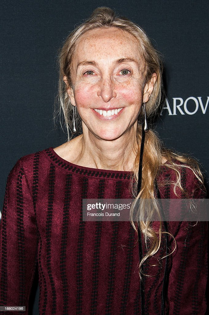 Carla Sozzani attends the Swarovski Dinner In Honor of the Bouroullec Brothers at Chateau de Versailles on November 14, 2013 in Versailles, France.