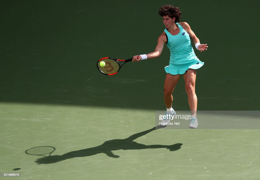 WTA Dubai Duty Free Tennis  Championship - Day Three
