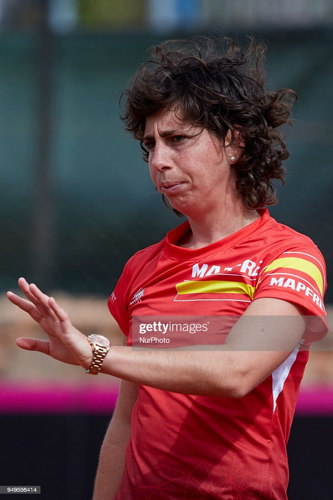 Spain v Paraguay - Fedcup by BNP Paribas World Group II Play-offs