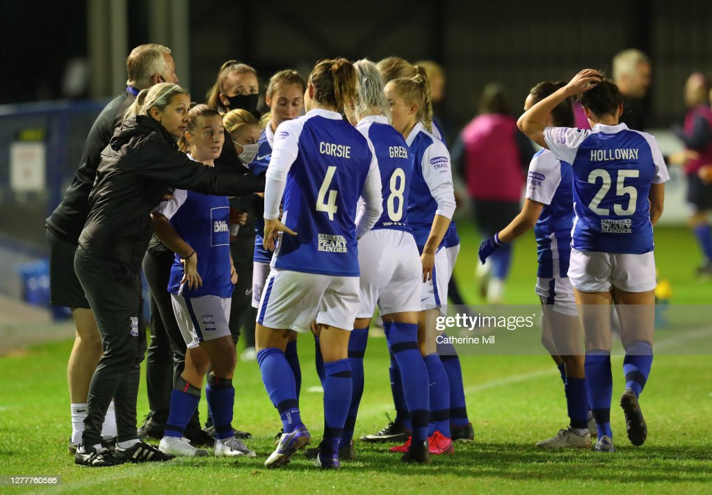 Birmingham City v Everton - Vitality Women's FA Cup: Semi Final : ニュース写真
