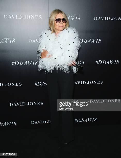 Carla Zampatti arrives ahead of the David Jones Autumn Winter 2018 Collections Launch at Australian Technology Park on February 7 2018 in Sydney...