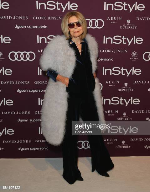 Carla Zampatti arrives ahead of the Women of Style Awards at The Star on May 17 2017 in Sydney Australia