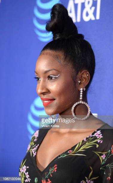 Carlacia Grant attends the Closing Night Screening of 'Ladies In Black' at the 30th Annual Palm Springs International Film Festival on January 13...