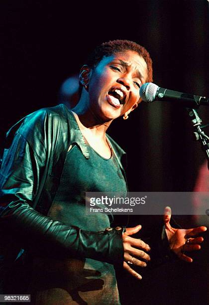 Carleen Anderson performs live on stage at the North Sea Jazz Festival in The Hague, Netherlands on July 14 1998
