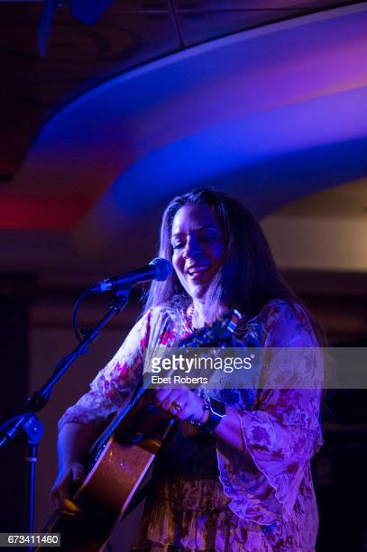 Carlene Carter performs on The Outlaw Country Cruise from Tampa to Cozumel on February 27 2017