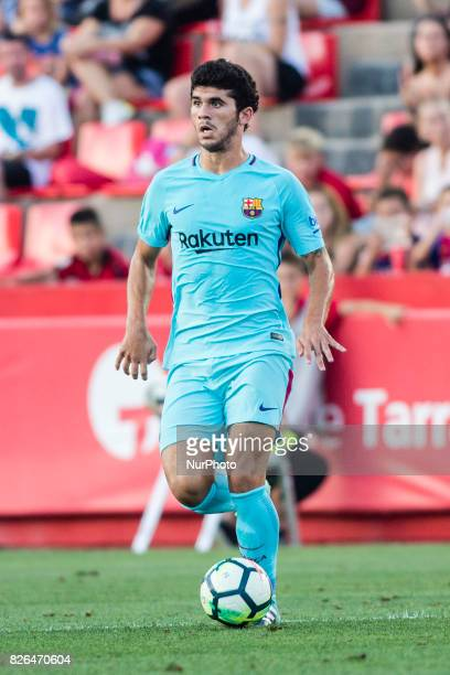 30 Carles Alena from Spain of FC Barcelona during the friendly match between Nastic vs FC Barcelona at Nou Estadi de Tarragona on August 4th 2017 in...