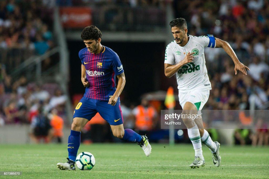 FC Barcelona vs Chapecoense - Joan Gamper Trophy : ニュース写真
