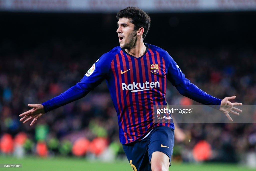 FC Barcelona v Villarreal CF - La Liga : ニュース写真