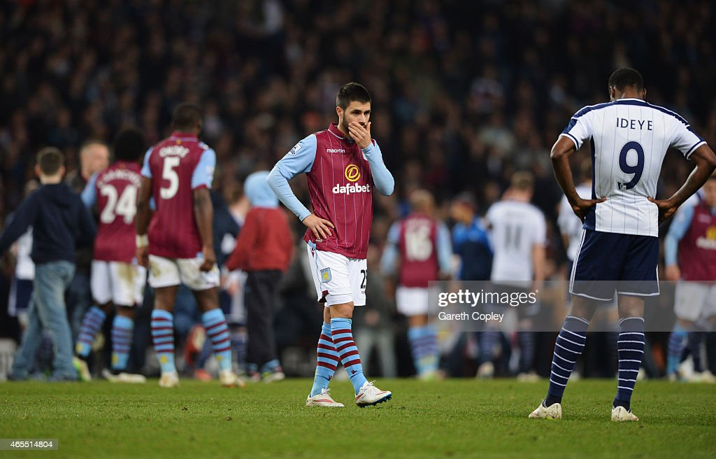 Aston Villa v West Bromwich Albion - FA Cup Quarter Final : News Photo
