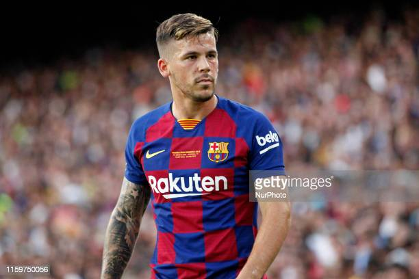 Carles Perez during the match between FC Barcelona and Arsenal FC corresponding to the Joan Gamper trophy played at the Camp Nou on 04th August in...